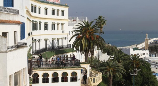L'hôtel Continental Tanger