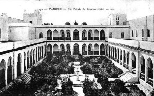 Photo du Palais Moulay Hafid circa 1920